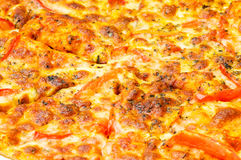 Close up of pizza Royalty Free Stock Photos