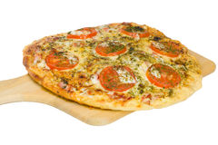 Close-up pizza Royalty Free Stock Images