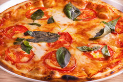 Close-up of pizza Royalty Free Stock Photography