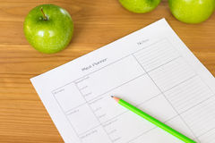 Close-up of a planner Stock Photos