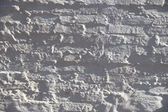 Close up of plastered brick walls Royalty Free Stock Photos