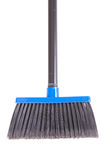 Close-up of plastic broom. Isolated on white background Royalty Free Stock Photography