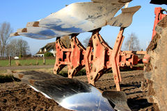 Close-up of a plough Stock Photography