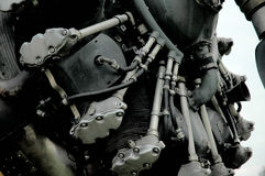 Close up poderoso do motor Fotografia de Stock Royalty Free