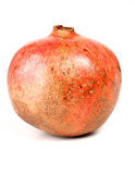 Close-up of pomegranate on white background Stock Photos