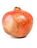 Close-up of pomegranate on white background Stock Photos