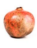 Close-up of pomegranate on white background Royalty Free Stock Photo