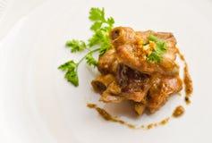 Close up pork rib roast Stock Image