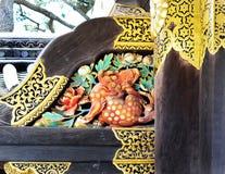 Close up, porta de Karamon, castelo japonês Imagens de Stock