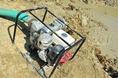 Close up portable water pump Stock Photos