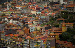 Close up of Porto city in Portugal Stock Images