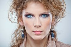 Close-up portrait Royalty Free Stock Images