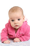 Close-up portrait of adorable baby Stock Photo