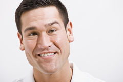 Close Up Portrait of Attractive male Stock Images