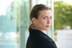 Close up portrait of an attractive profession business woman Stock Photography