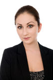 Close-up portrait of a beautiful business woman Royalty Free Stock Images