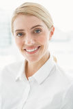 Close up portrait of beautiful businesswoman Royalty Free Stock Photography