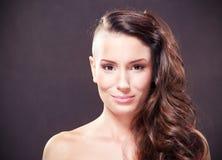 Beautiful woman. Close-up portrait of beautiful woman Royalty Free Stock Images