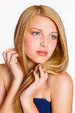 Close-up portrait of beautiful Woman Royalty Free Stock Photos