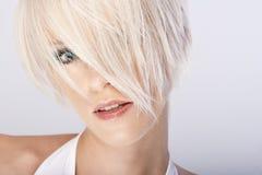 Close-up portrait of a beautiful woman Stock Photo