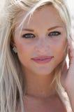 Close Up Portrait of Beautiful Women Royalty Free Stock Photos