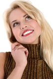 Close-up portrait of a beautiful young woman Stock Photography