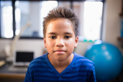Close-up portrait of boy Stock Photography