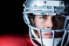 Close-up portrait of confident sportsman Stock Image