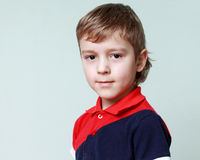 Close up portrait of a cute little boy Royalty Free Stock Photography