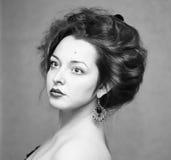 Close-up portrait of Lady Stock Photos