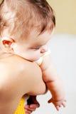 Close up portrait little boy Stock Images