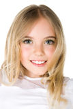 Close-up portrait of a little girl Royalty Free Stock Photo