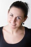 Portrait of happpy smile beauty woman Stock Photo