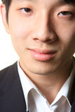 Close up portrait of man smiling Royalty Free Stock Images