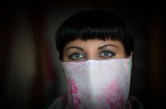 Free Close-up Portrait Of A Beautiful Woman With Expressive Green Eye Royalty Free Stock Image - 96328506