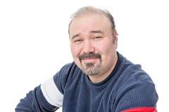 Free Close-up Portrait Of A Friendly Balding Mature Man Stock Images - 37264054