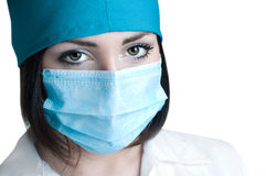 Close Up Portrait Of Doctor Stock Photography