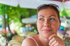 Close-up portrait Stock Images