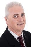Close up portrait of senior business man Stock Photography