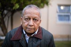 Close-up portrait of senior man Stock Photography