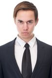 Close up portrait of a serious businessman Royalty Free Stock Photography