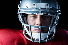 Close-up portrait of serious sportsman Royalty Free Stock Images
