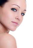 Close-up portrait of sexy  woman Stock Photo