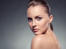 Close-up portrait of woman Stock Photography