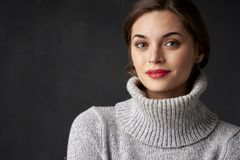 Attractive young woman portrait Stock Image