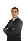 Close up portrait of a smiling Indian business man. Royalty Free Stock Image