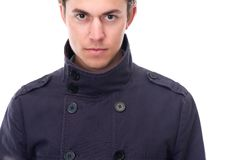 Close up portrait of a stylish young man Royalty Free Stock Photo
