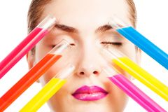 Choice in makeup industry Royalty Free Stock Photo
