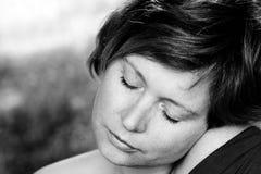 Close up portrait of woman Stock Photo