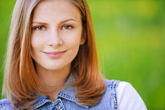 Close-up portrait of young Royalty Free Stock Photo